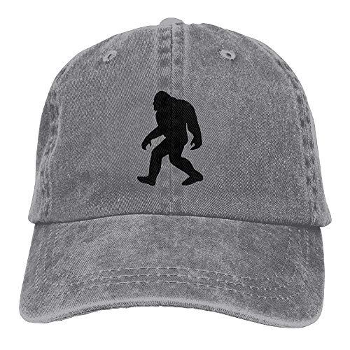 Denim Womens Washed béisbol Baseball Adjustable Hat Bigft Sasquatch Hats Gorras pfxtHwYqp