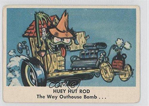 Huey Hut Rod COMC REVIEWED Good to VG-EX (Trading Card) 1965 Fleer Weird-ohs - [Base] - Hut Good