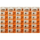 25 Powertron CR927 Lithium Button Cell batteries, 5-Pcs Card X5