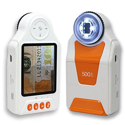 Indigi Digital Handheld Magnifier Microscope 500x ZOOM Camer