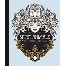Spirit Animals Coloring Book: Published in Sweden as Själsfränder