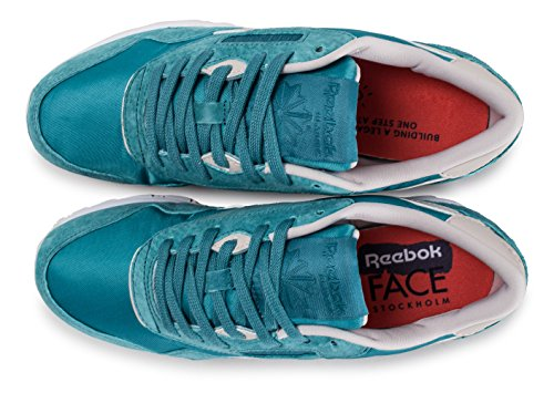 Reebok Hv Nylon Blue Cl Sneakers WoMen Slim 7rz7nFO