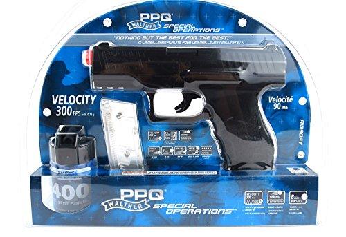 umarex walther ppq airsoft pistol, black(Airsoft Gun)