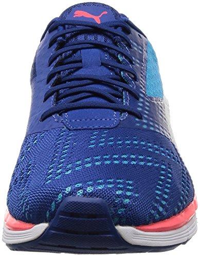 Puma Speed 300 S Ignite, Chaussures de Running Compétition Homme, Blau/Rot/Silber Bleu (True Blue-blue Danube-puma Silver 01)