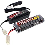 Traxxas 1 10 Jato 3.3 7.2V NiMH 1800 mAh BATTERY & 2 AMP CAR CHARGER 6 Cell