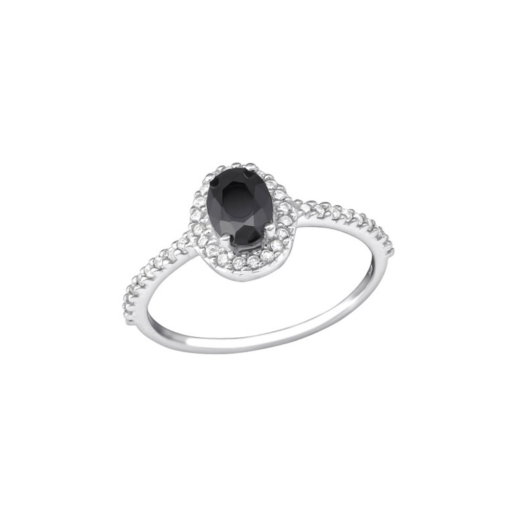 Pear Jeweled Rings 925 Sterling Silver Polished Nickel Free Liara