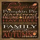 "Thanksgiving III by Stephanie Marrott - 12"" x 12"" Giclee Canvas Art Print"