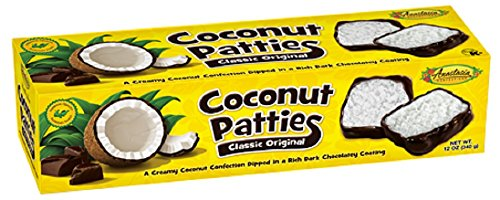 Coconut Custard Pie - Anastasia Confections Coconut Patties, Original, 12-ounce