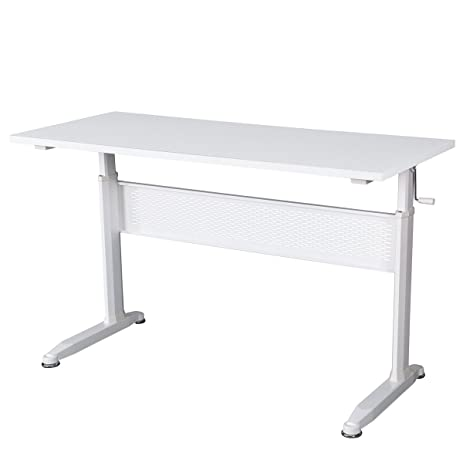 Amazoncom DEVAISE Adjustable Height Standing Desk 55 Inch with