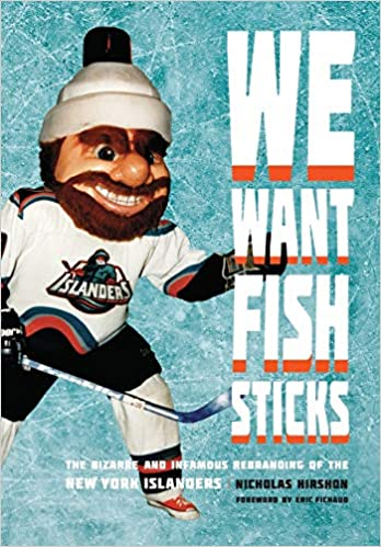 f7c395022 We Want Fish Sticks The Bizarre And Infamous Rebranding Of New. New York  Islanders Fisherman Snap Back Hat Nwt The Game Vine Rare Big Logo