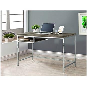 Amazoncom Coaster 800520 Home Furnishings Desk Weathered Grey