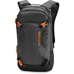 From snow to dirt, the Dakine® Heli Pack Backpack 12L keeps you dialed in year round! Low-profile backpack in a durable polyester.  Compact technical snow pack with a diagonal ski and vertical snowboard carry system. External shovel carry.  W...