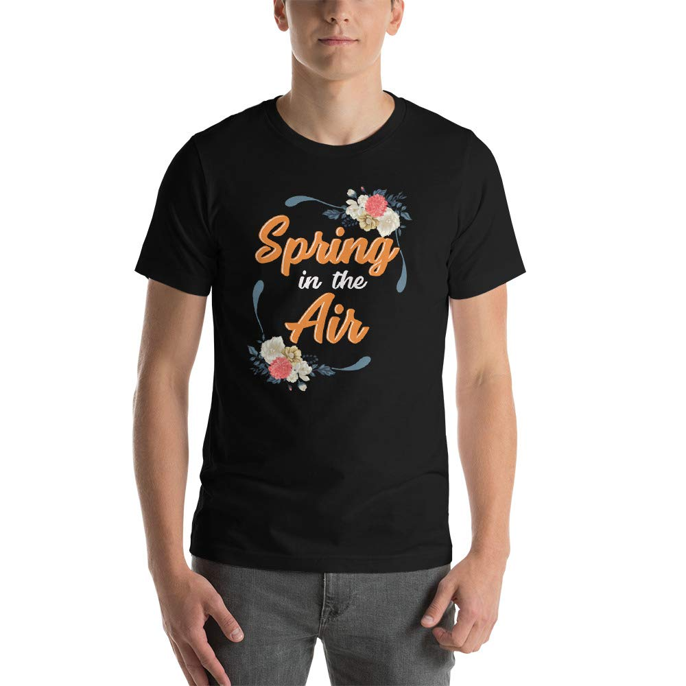 Spring in The Air Short-Sleeve Unisex T-Shirt
