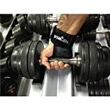 VIMGEN-SPORTS-WeightLifting-Gloves-with-Silicone-Padding-Grip-Wrist-Strap-Support-Workout-Gloves-for-Gym-Exercise-Anti-sweat-Technology-for-Men-Women-Free-Terry-Sweat-Band-CrossFit-eBook