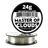 Tools & Hardware : 100 ft - 24 Gauge Kanthal A1 Resistance Wire AWG 100' Lengths