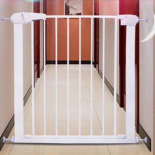 素敵な 簡潔な赤ちゃん安全ゲートドアWalk ThruペットフェンスExtra Wide 28 Wide