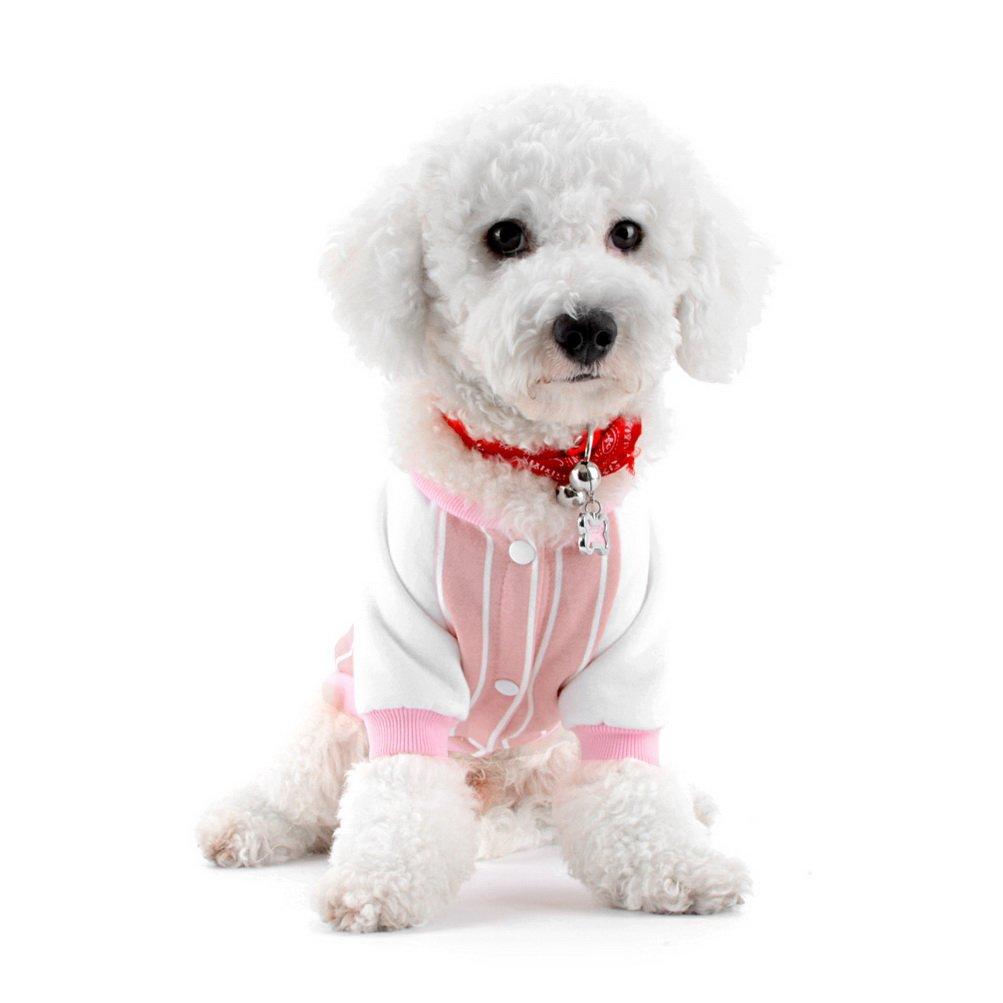 Zunea - Abrigo de béisbol para Perros pequeños, Gatos, Ropa de ...