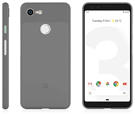 Mnml Case (Pixel 3, Frosted Black) by Mnml Case