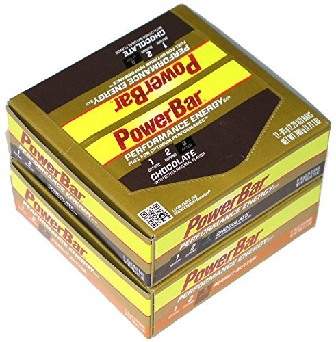 Powerbar Performance Energy Bar, Chocolate and Peanut Butter Combo, 24ct