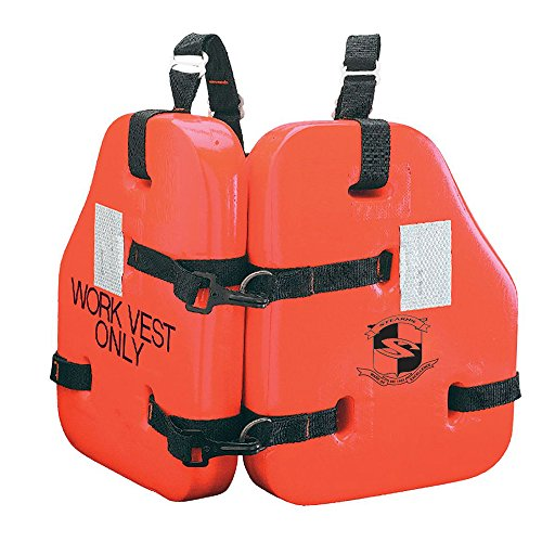 - Stearns Force II Life Vest - Orange - Oversize