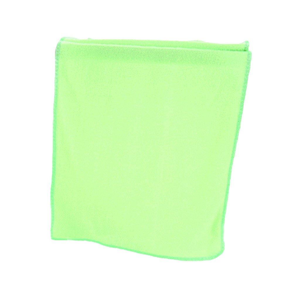 Gilroy Absorbent Microfiber Towel Car Dish Washing Cloth Fast Drying Hand Towel,30cm x 70cm (Light Green)