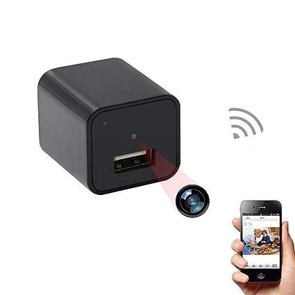 sansnail Mini cámara 1080P HD cámara oculta Mini cámara de vigilancia, pequeños Portátiles USB de