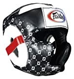 Fairtex Super Sparring Headguard, Black, Medium