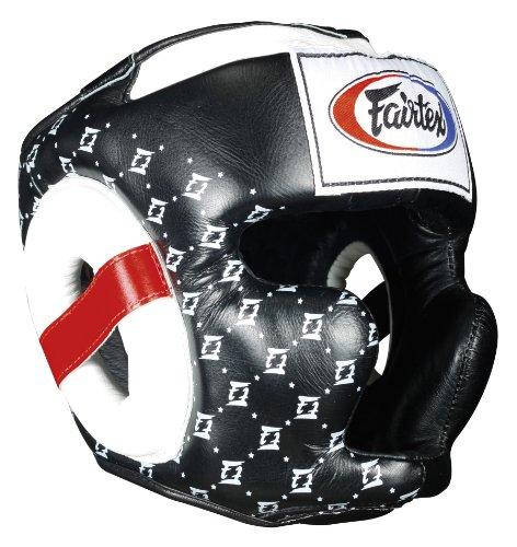 Fairtex Super MMA Muay Thai Sparring Headgear with Cheeks
