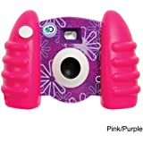 Discovery Kids Digital Pink  amp; Purple Camera with Video with Full color LCD display and 16 MB of