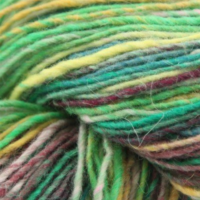 Noro Shiraito Angora Cashmere Fingering Luxury Yarn Lime, Green, Pink Color 24 1sk