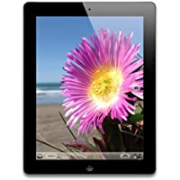 "Apple iPad 4 9.7"" 16GB Wi-Fi Retina Display Tablet with Dual-core / 1GB RAM (4th Gen) - Refurbished + Krazilla Headphone"