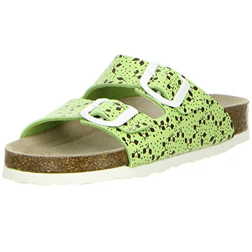 BIOLINE Kinder Pantoletten grün Grün