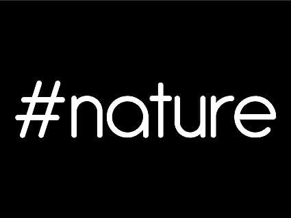 2623af6fa2 Amazon.com   nature Hashtag (2 Pack) Vinyl Decal Sticker