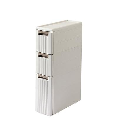 Amazon Com Shelf Standing Units 18cm Bathroom Gap Storage Rack