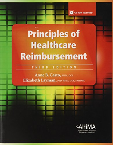 Principles of Healthcare Reimbursement [With CDROM]