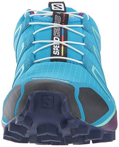 Salomon Speedcross 4 W, Zapatillas de Running Mujer Azul (Hawaiian Surf/Astral Aura/Grape Jui)