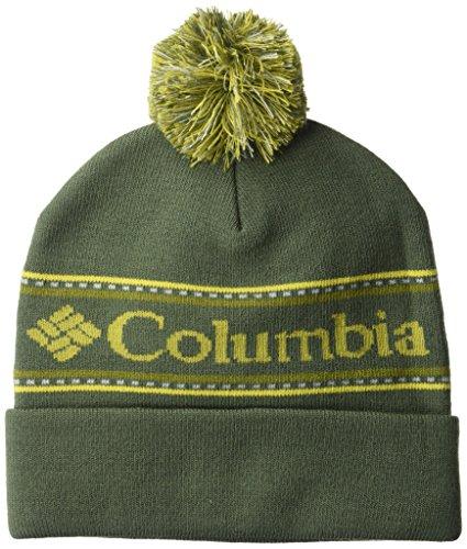 Columbia Top Hat - Columbia Men's CSC Logo Beanie, Gravel, One Size