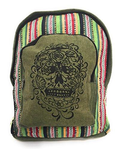 bohemian-sugar-skull-striped-rucksack-backpack-khaki