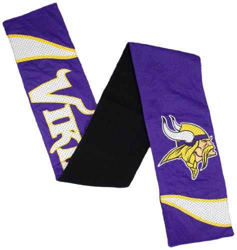 無駄な死ブローホールNFL Minnesota Vikingsレディースジャージースカーフ