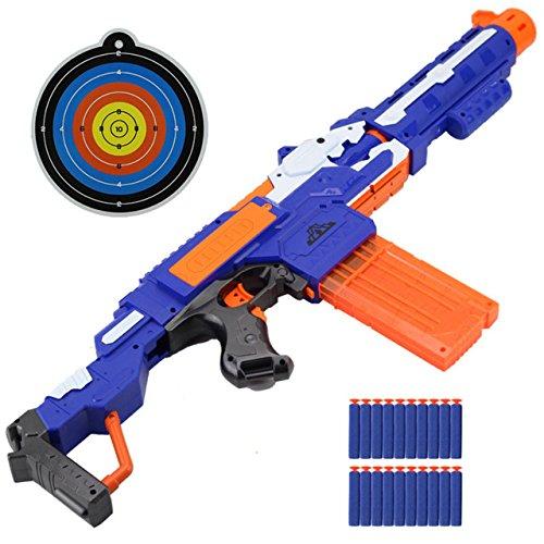 Toy, Fun, Game, Electric Soft Bullet Toy Gun With 20 Bullet 1 Target Shooting Submachine Gun Weapon Water Bullet Gun Outdoors Toys For Kids, Children, Kids, Play