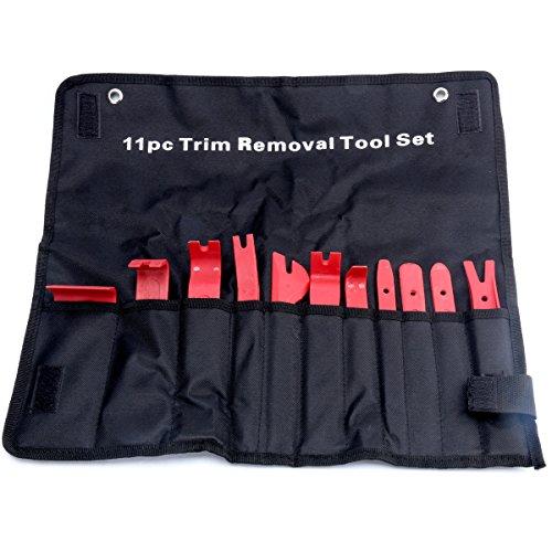8milelake 11pcs Premium Trim Upholstery Removal Kit Pry Bar Scraper Set