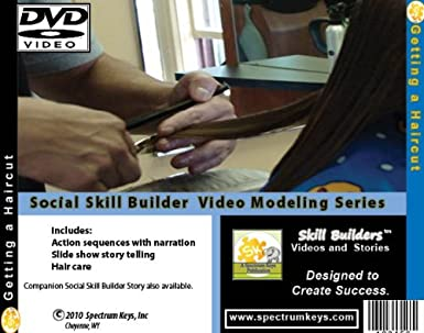 Amazon Com Getting A Haircut Social Skill Video Modeling For