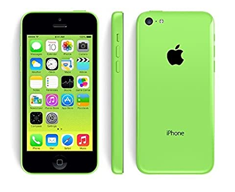 Apple iPhone 5C 8GB Factory Unlocked GSM Cell Phone - Green (Prepaid Iphones Boost Mobile)