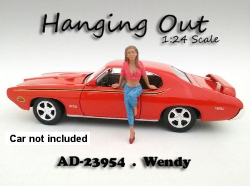 """Hanging Out"" Wendy Figurine / Figure For 1:24 Scale for sale  Delivered anywhere in USA"