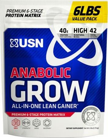 アナボリックグロー 2.7kg (Anabolic Grow 6 Lbs.) (チョコレートピーナッツバター) [並行輸入品] B06XKM3LKW チョコレートピーナッツバター