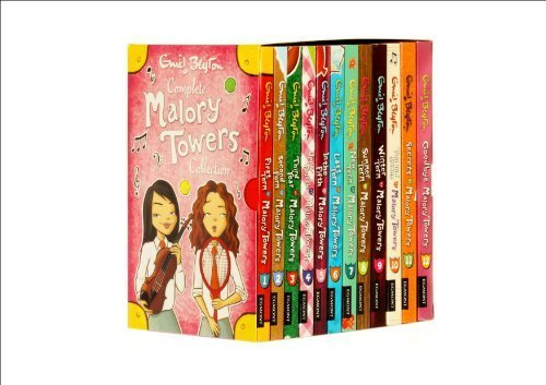 Enid Blyton Malory Towers Box Set Gift Pack Collection 12 Books - 1. Fi ebook