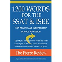 1200 Words for the SSAT & ISEE: For Private and Independent School Admissions
