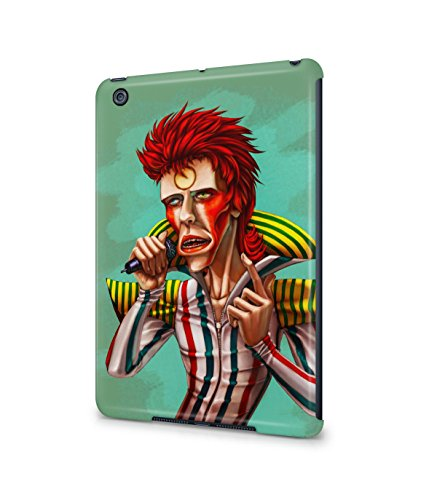 [Ziggy Stardust Costume David Bowie Plastic Snap-On Case Cover Shell For Apple iPad Mini] (Kevin Mccallister Costume)