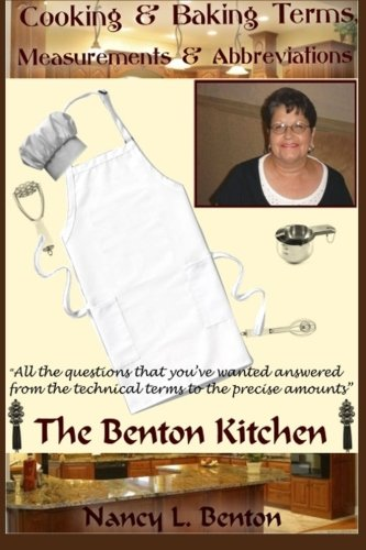 Cooking & Baking Terms, Measurements & Abbreviations (The Benton Kitchen)