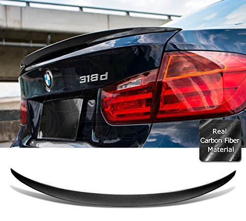 Carbon Fiber Trunk Spoiler Fits BMW 3-Series F30 Sedan 2012-2017 Performance Style